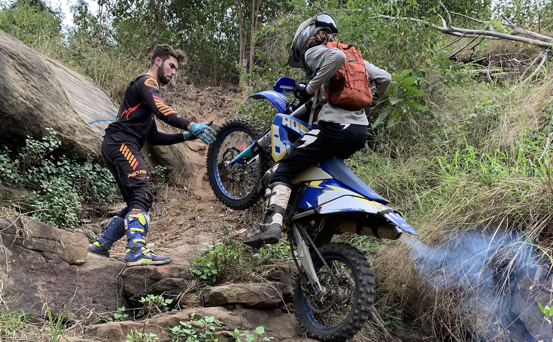 Trials and Enduro Motorbike Riding Coaching Clinics Australia